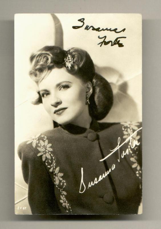 Susanna Foster Clickautographs autographs Susanna Foster