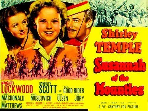 Susannah of the Mounties Lauras Miscellaneous Musings Tonights Movie Susannah of the