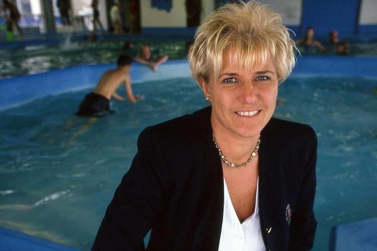 Susanne Nielsson Den danske svmmelegende Susanne Nielsson fik taget muskler ud af