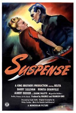 Suspense (1946 film) movie poster