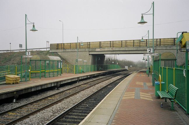 Sutton Parkway railway station