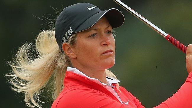 Suzann Pettersen Suzann Pettersen powers to Australian Open lead Herald Sun