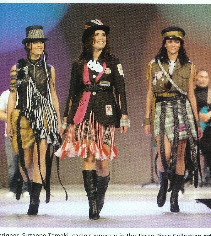 Suzanne Tamaki BEYOND BUCKSKIN Designer Profile Suzanne Tamaki