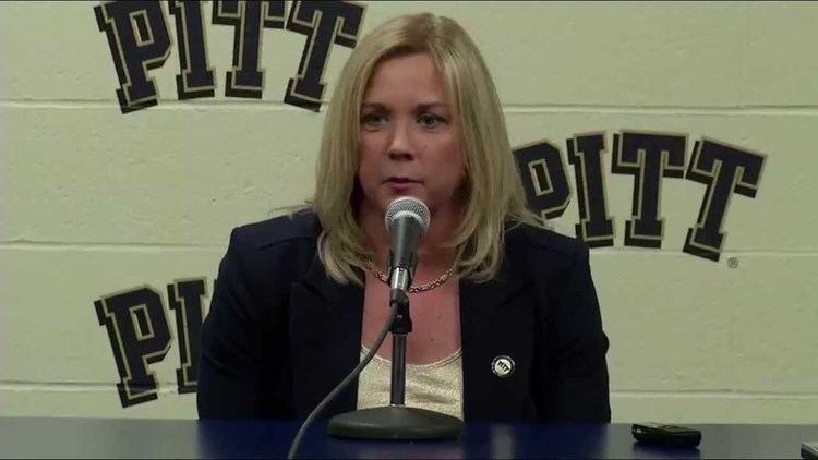 Suzie McConnell-Serio Suzie McConnellSerio Introductory Pitt Press Conference