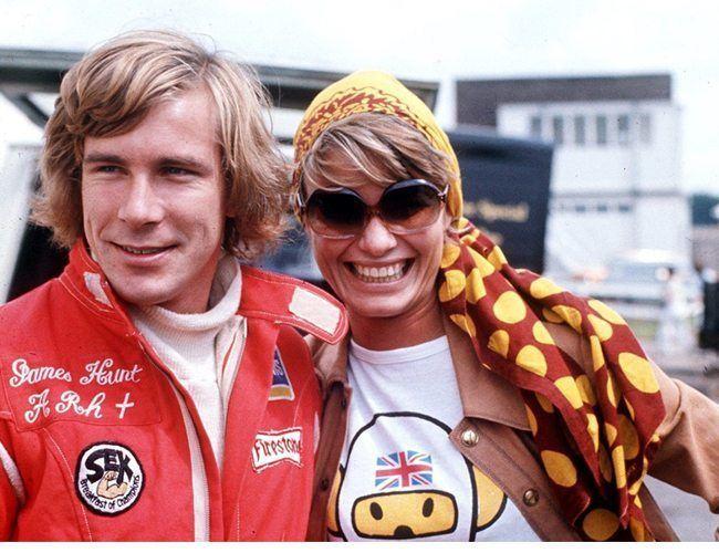 Suzy Miller Suzy Miller and Sarah Lomax Formula One Driver James