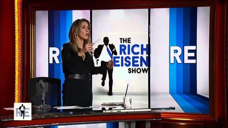 Suzy Shuster Rich Eisen Cold Open Suzy Shuster Guest Hosts 102414 YouTube