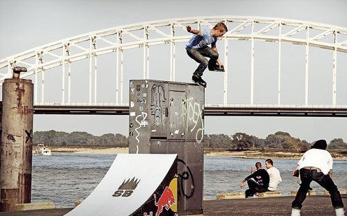 Sven Boekhorst Rollerblade Estilo Sven Skates