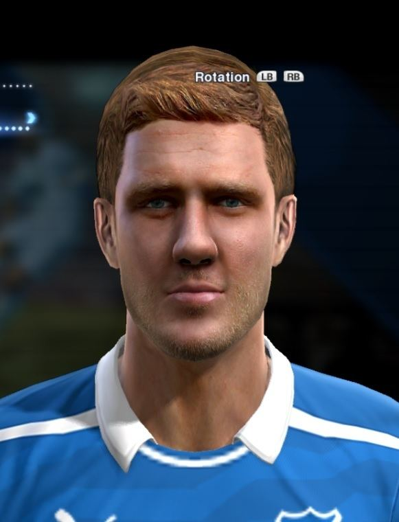 Sven Schipplock Schipplock Sven face for Pro Evolution Soccer PES 2013