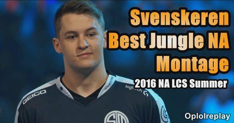 Svenskeren TSM Svenskeren Best Jungle NA Montage 2016 NA LCS Summer YouTube