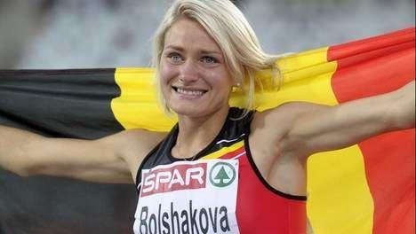 Svetlana Bolshakova Svetlana Bolshakova schenkt Belgi bronzen medaille HLNbe