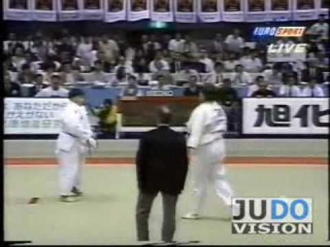 Svetlana Goundarenko JUDO 1995 World Championships HyunMe Shon KOR Svetlana