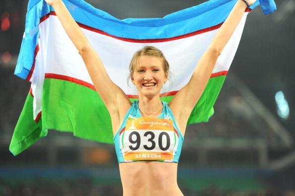 Svetlana Radzivil Uzbek Athlete Svetlana Radzivil won the Tournament in a