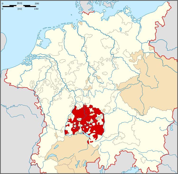 Swabia Circle of Swabia Wikipedia
