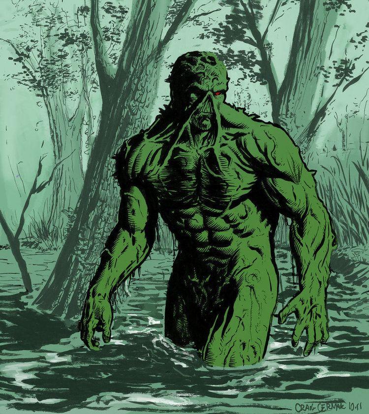 Swamp Thing Swamp Thing vs Legion of Doom Battles Comic Vine