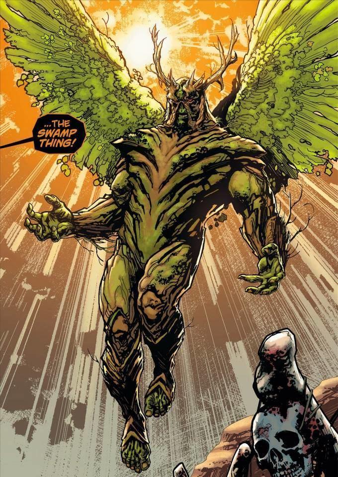 Swamp Thing Swamp Thing Character Comic Vine
