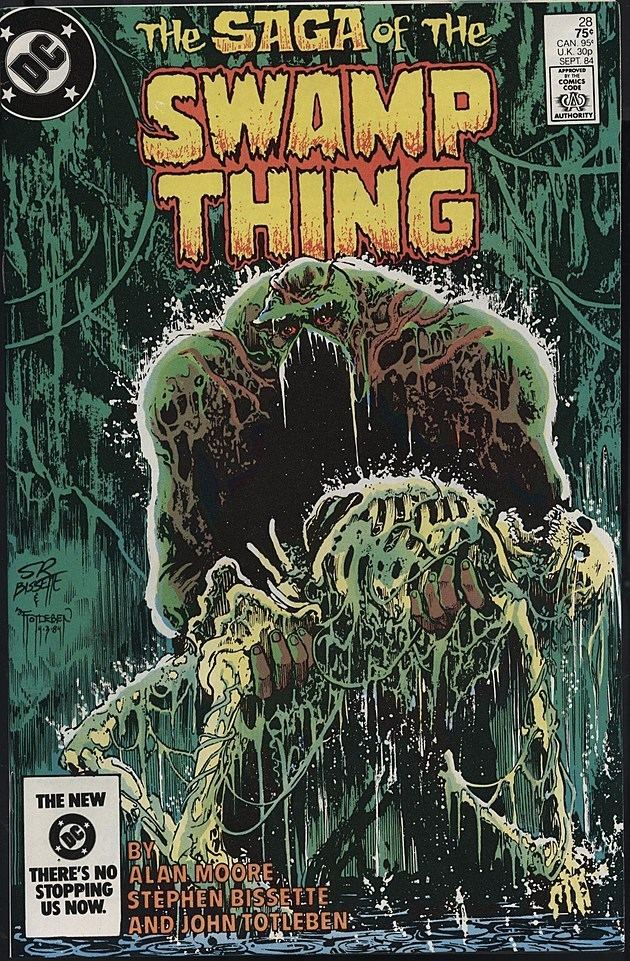 Swamp Thing A Ghost Dressed In Weeds A Celebration Of Swamp Thing