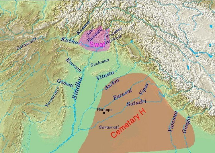 Swat District in the past, History of Swat District