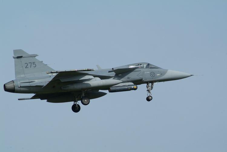 Swedish Air Force File39275 SAAB J39C Gripen of F21 of the Swedish Air Force