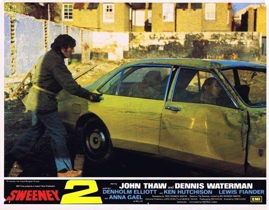 Sweeney 2 THE SWEENEY 2 1978 Lobby Card 2 John Thaw Dennis Waterman