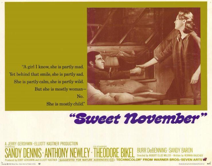 Sweet November (1968 film) Sweet November 1968 Deep Roots Magazine