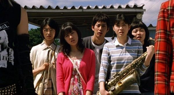 Swing Girls Japanese Comedy Film Swing Girls IroMegane
