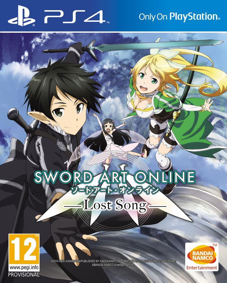 Sword Art Online: Lost Song PS4 Versions of Sword Art Online Lost Song and Sword Art Online