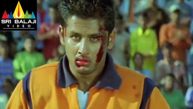 Sye (2004 film) Sye Movie Rugby Match 2nd Half Nithin Genelia Sri Balaji Video