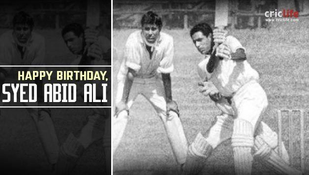 Syed Abid Ali 10 interesting things to know about Indias dashing