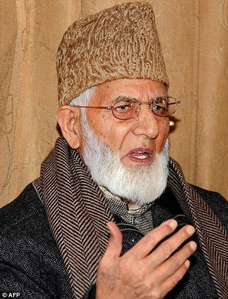 Syed Ali Shah Geelani Hawk bats for pastors Syed Ali Shah Geelani takes on