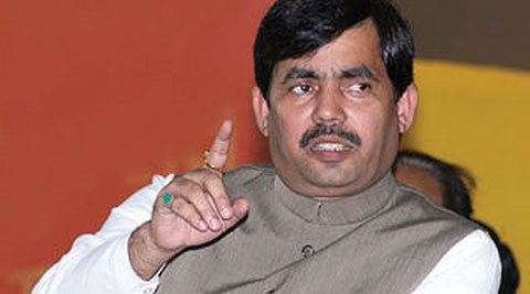 Syed Shahnawaz Hussain Akhilesh government responsible for riots Syed Shahnawaz