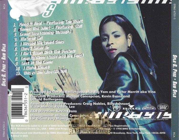 Sylk-E. Fyne SylkE Fyne Raw Sylk CDs Rap Music Guide