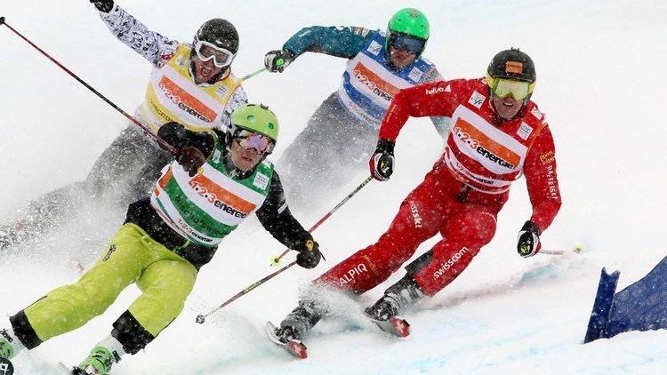 Sylvain Miaillier Freestyle Skiing Ski Cross Athlete Sylvain MIAILLIER