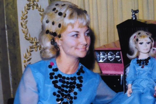 Sylvia Anderson Thunderbirds creator Sylvia Anderson head to RAF Cosford