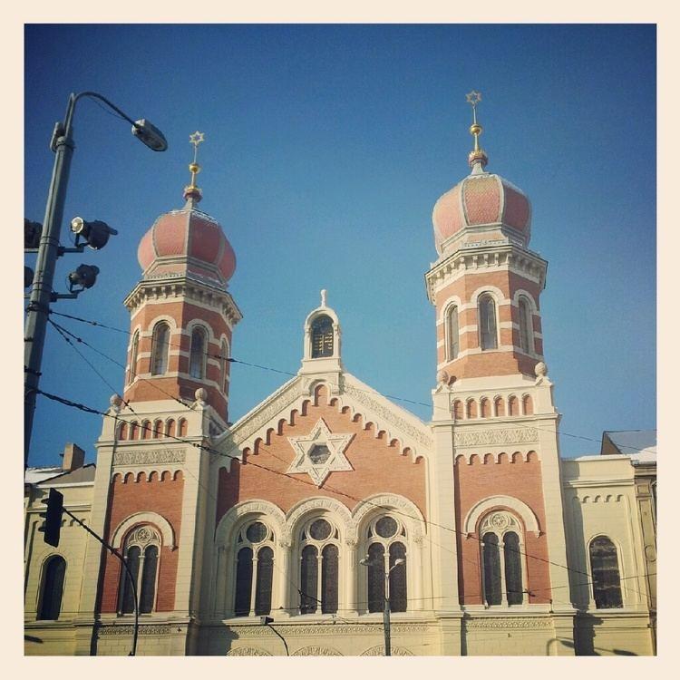 Synagogue The Great Synagogue in Pilsen Prague Blog