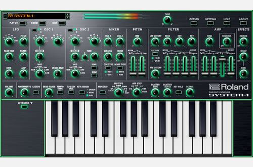 Synthesizer Roland SYSTEM1 Software Synthesizer Software Synthesizer