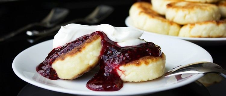 Syrniki Sirniki Syrniki Russian Cheese Pancakes