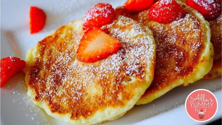 Syrniki How to make Cottage Cheese Pancakes Russian Syrniki Recipe