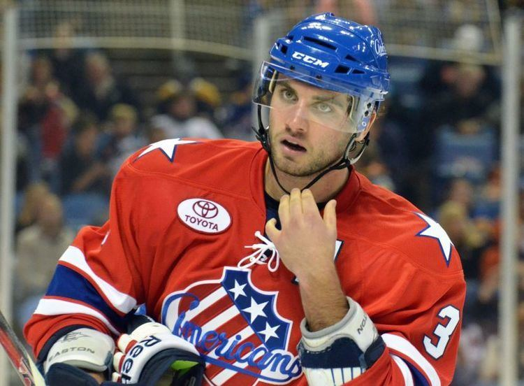 T. J. Brennan Amerks Brennan making strong case to stick with Sabres if NHL