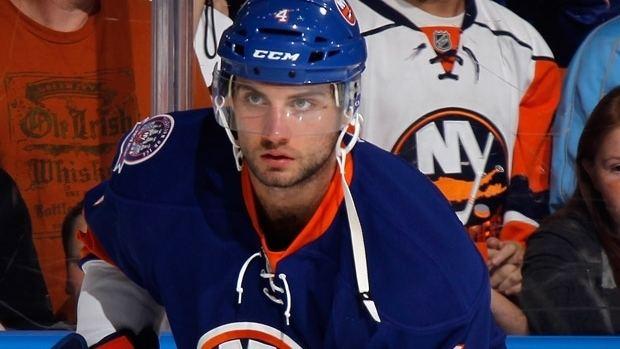 T. J. Brennan TJ Brennan traded to Leafs from Blackhawks NHL on CBC Sports
