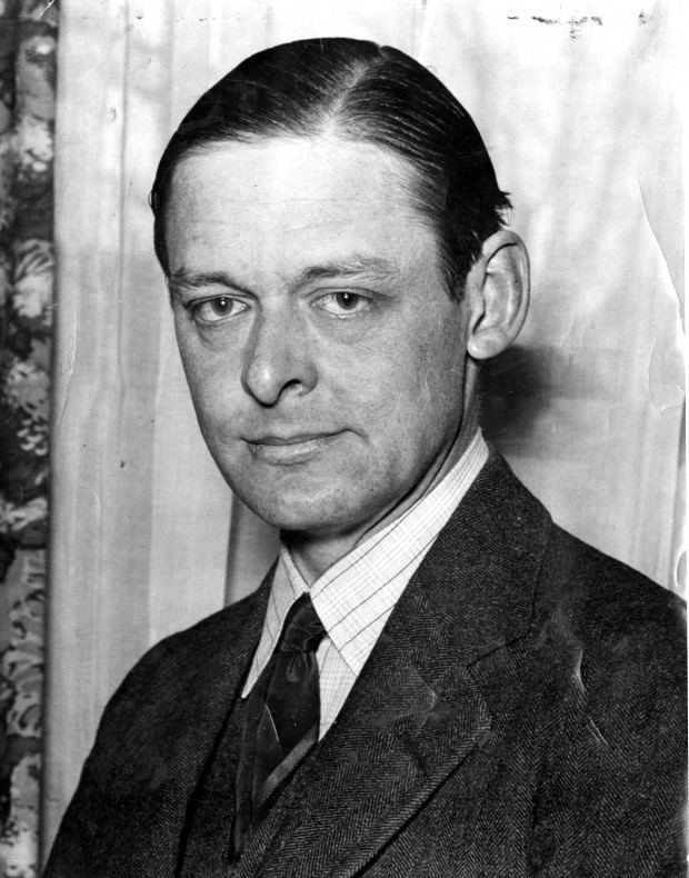 T. S. Eliot A Look Back Poet TS Eliot visits his home town in 1933