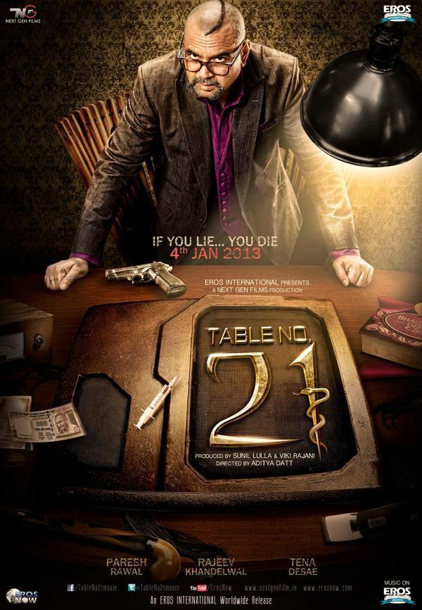 Table No. 21 Table No21 First Look Table No21 Movie Poster Picture 268191