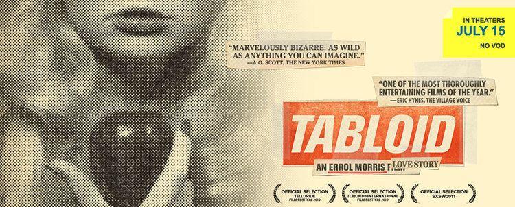 Tabloid (film) Man I Love Films TRAILER TITILLATION ERROL MORRIS TABLOID