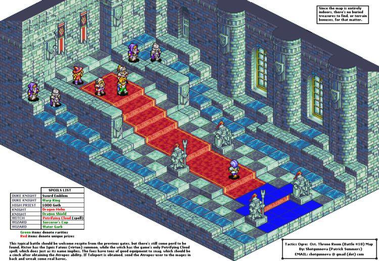 Tactics Ogre: The Knight of Lodis - Alchetron, the free