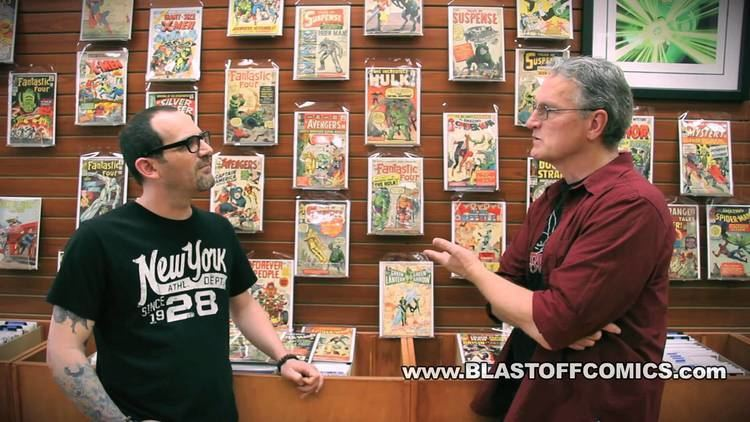 Tad Stones The BLASTOFF Video Interview The Tad Stones Collection Part I