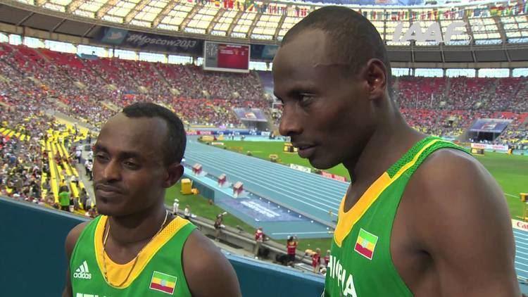 Tadese Tola Moscow 2013 Tsegay KEBEDE amp Tadese TOLA ETH Men39s