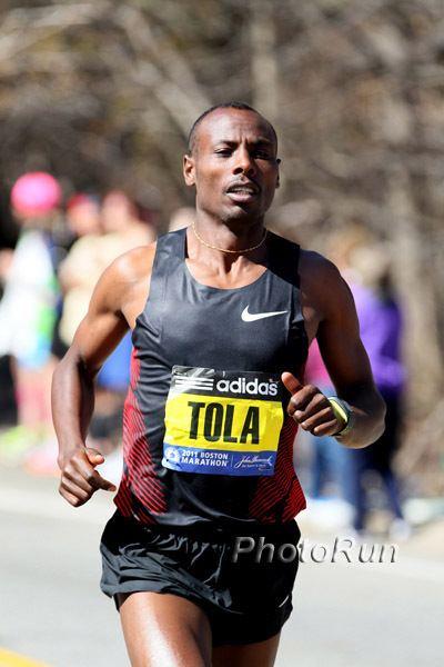Tadese Tola 2011 Eindhoven Marathon Tadese Tola looking for record
