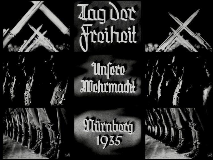 Tag der Freiheit: Unsere Wehrmacht Riefenstahl Leni Tag der Freiheit Unsere Wehrmacht 1935 YouTube