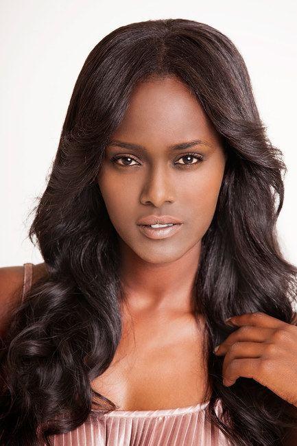 Tahounia Rubel Celebrity Hair Colors Tahounia Rubel with Black Hair