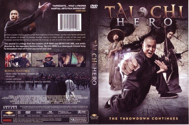 Tai Chi Hero Tai Chi Hero 2012 WS R1 Movie DVD Front DVD Cover