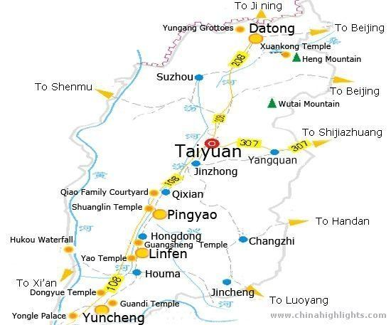 Taiyuan Tourist places in Taiyuan